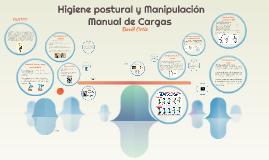 Higiene postural y Manipulación Manual de Cargas