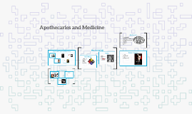 Apothecaries and Medicine