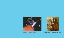 Cassini Spacecraft