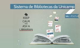 SBU - Sistema de Bibliotecas da Unicamp