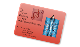 HGP and Genetic Screening
