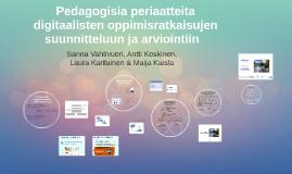 Copy of Copy of Pedagogisia periaatteita takomassa!