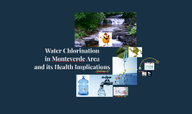 Water Chlorination in Monteverde Area