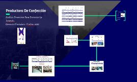 Copy of Productora De Confección