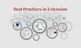 Best Practices in Extension