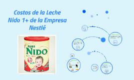 Copy of Costos de la Leche Nido 1+ de la empresa Nestlé