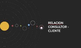 RELACION CONSULTOR - CLIENTE