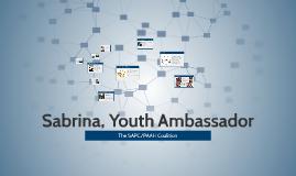 Sabrina, Youth Ambassador