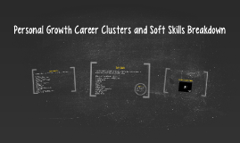 Career Clusters Breakdown