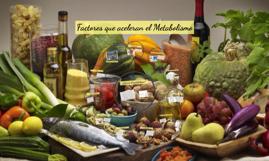 Factores que aceleran el Metabolismo