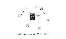 Administración  científica  (Federick Taylor)