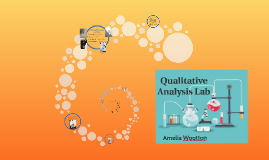 Qualitative Analysis Lab