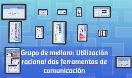 Utilización racional das ferramentas de comunicación
