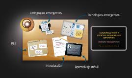 Aprendizaje móvil y entornos personalizados de aprendizaje