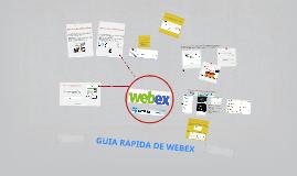 GUIA RAPIDA DE WEBEX