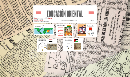 Copy of EDUCACIÓN ORIENTAL