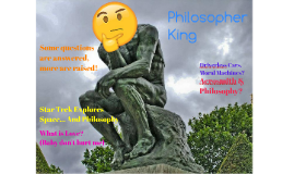 Philosopher King Cover