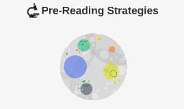 Pre-Reading Strategies