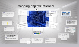 maping objet relational