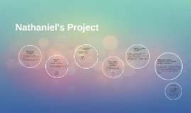 Nathaniel's Project
