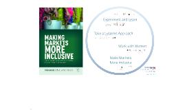 Making Markets More Inclusive - Coady SLE Class
