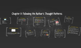 Chapter 8: Following the Author's Thought Patterns