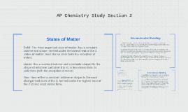 AP Chemistry Study Section 2