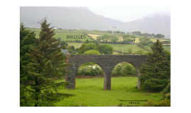 Bridges - types and designing