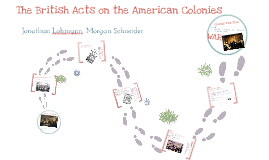 Copy of The British Acts on the American Colonies