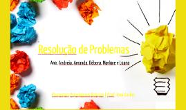 Copy of Resolução de Problemas e Criatividade.