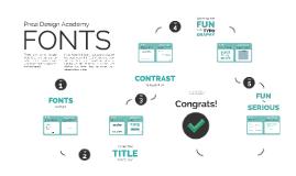 Copy of Prezi Design Academy: Fonts Tutorial