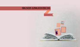 SIGNOS LINGUISTICOS : CARACTERISTICAS