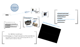 Les outils numériques à l'école