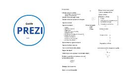 Copy of Guide Prezi en français