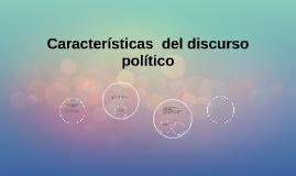 Características de la comunicación política