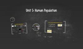 Unit 5: Human Population