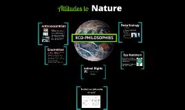 Attitudes to Nature