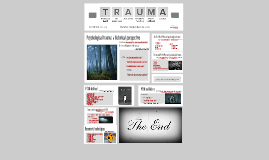 Psychological trauma:a historical perspective