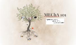 MEChA 101