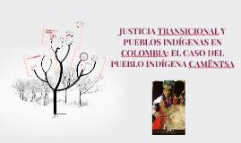 JUSTICIA TRANSICIONAL Y PUEBLOS INDÍGENAS EN COLOMBIA: EL CA