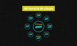 Mi horario de clases