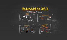 Mediendidaktik 2 (2015/16)
