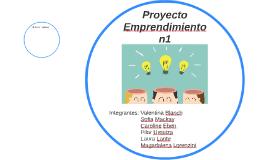 Proyecto Emprendimiento n1