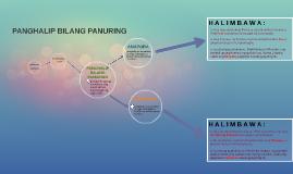 PANGHALIP BILANG PANURING