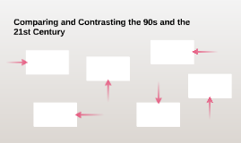 Comparing and Contrasting the 90s and the 21st Century