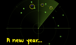 A new year...