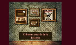 EL honor y la honra