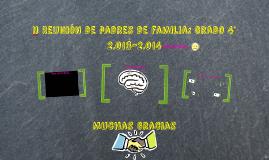 I Reunión de padres de familia: Grado 4° 2.013-2.014