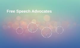 Free Speech Advocates