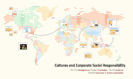Cultures and Corporate Social Responsibility